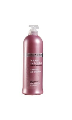 Black Anti - Dandruff Shampoo 500 ml