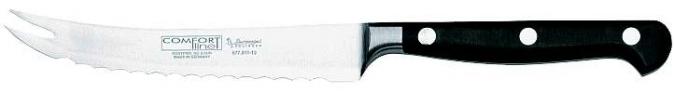Kovaný nůž na krájení rajčat a zeleniny s hladkým povrchem Burgvogel Solingen 6770.911.13.2 řada COMFORT Line