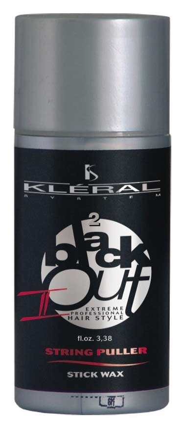 Kléral Black Out String Puller stick wax II - vosk na vlasy