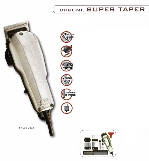 WAHL 4005-0472 Chrom Super Taper