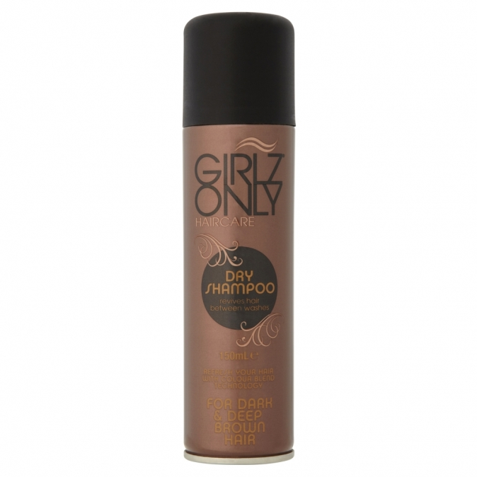 Girlz Only For Dark & Deep Brown Hair 150 ml - suchý šampon
