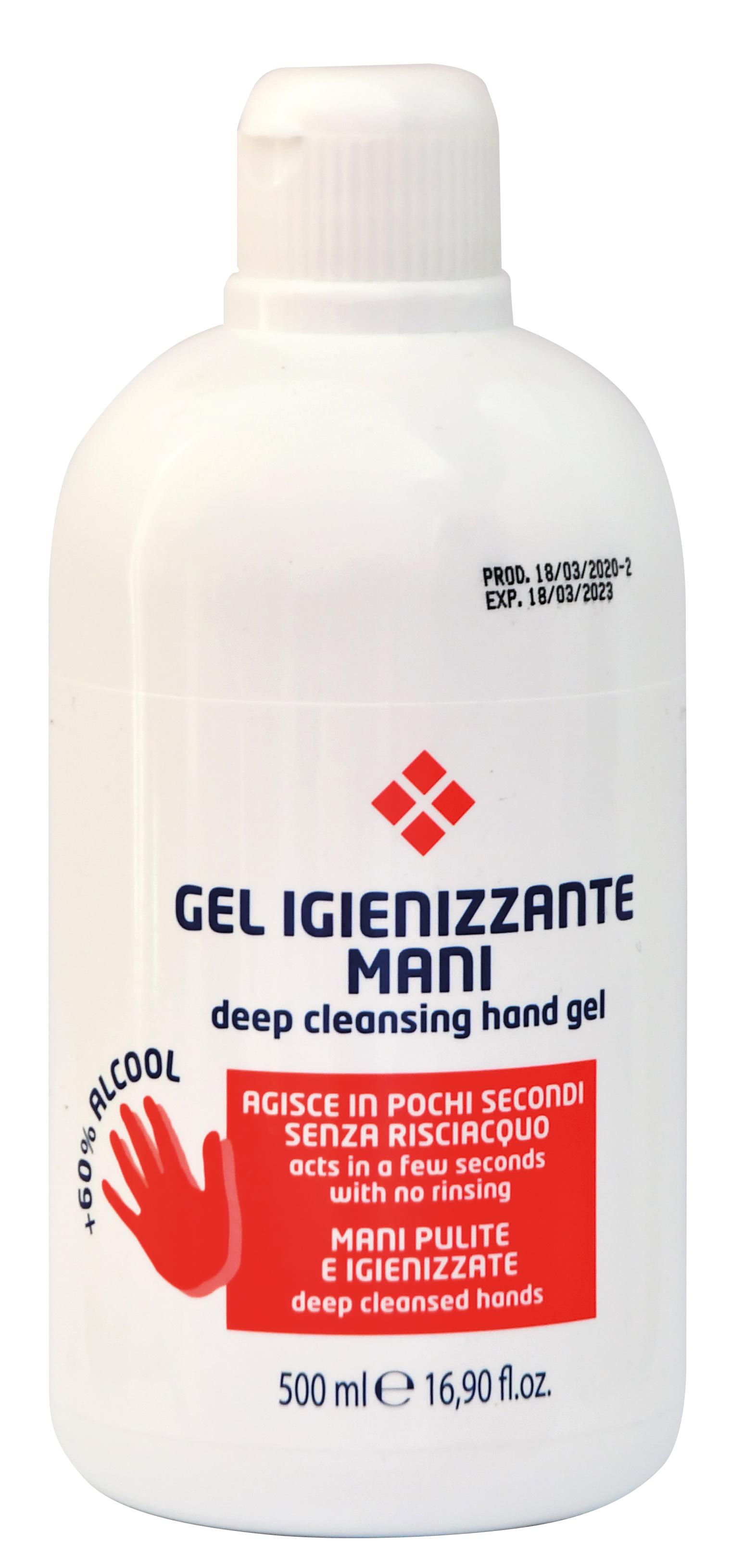 Hygienický antibakteriální bezoplachový gel 500 ml