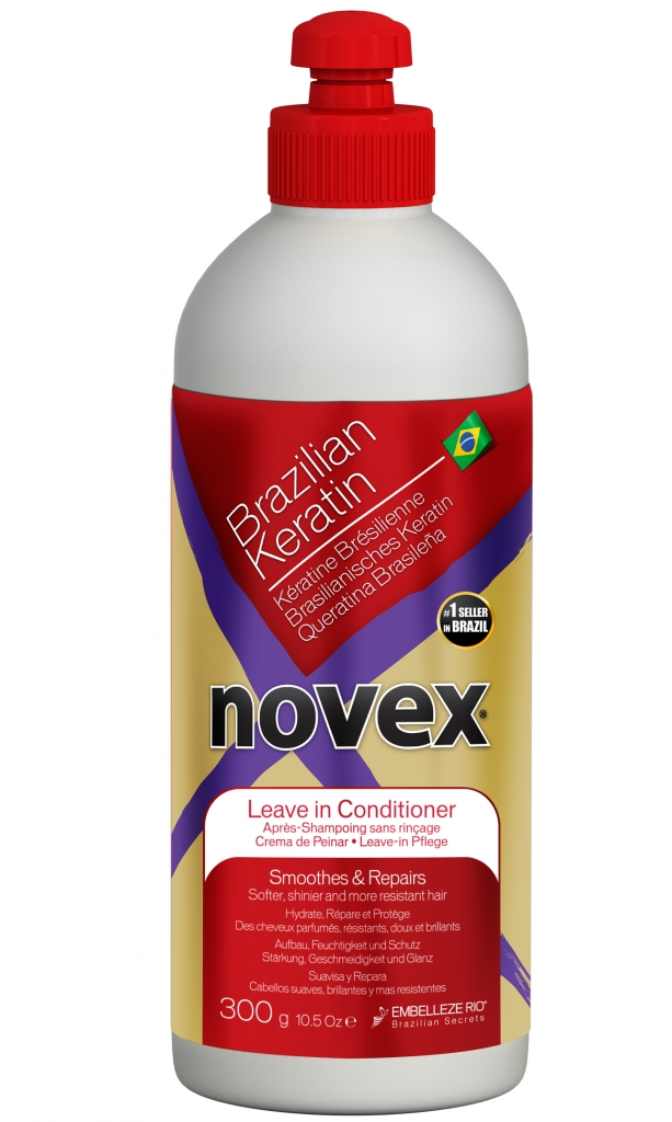 Novex Brazilian Keratin Leave-in Conditioner 300 g - bezoplachový kondicionér na