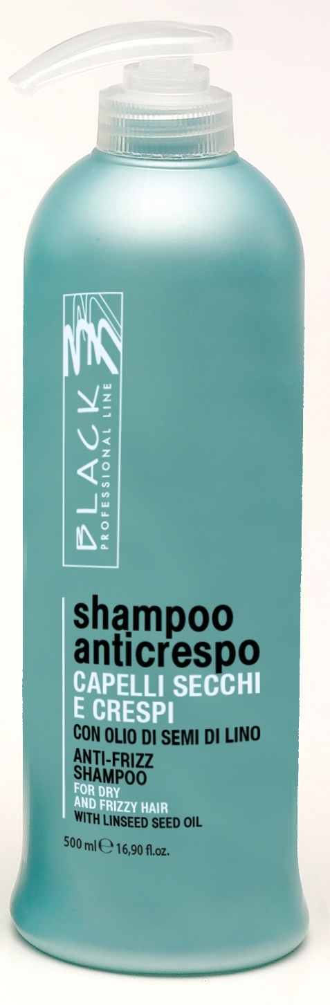 Black Anticrespo/Anti-Frizz Shampoo 500ml - šampon na vlasy