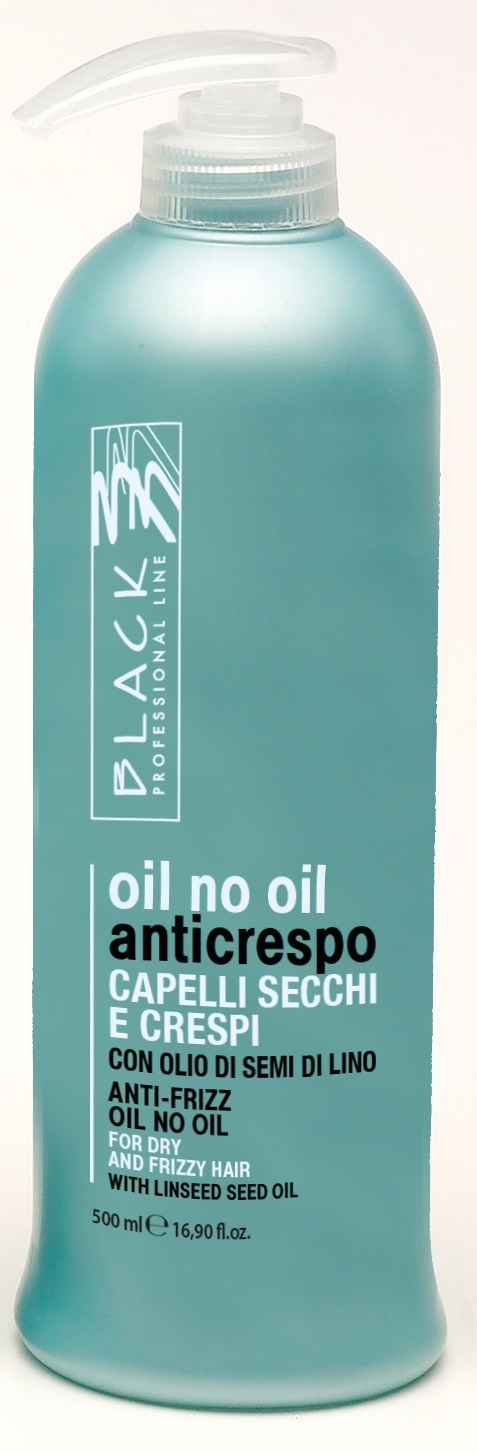 Black Oil No Oil Anticrespo/Anti-Frizz 500ml - ochrana vlasů proti krepatosti