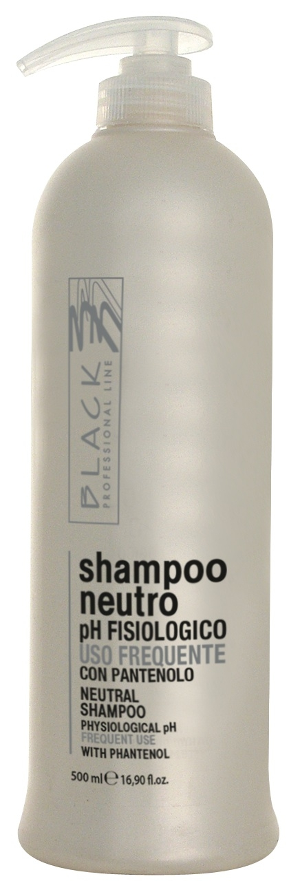 Black Neutral Shampoo 500ml - šampon na vlasy