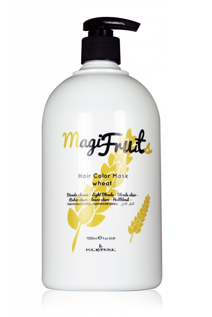 Kléral MagiFruits Hair Mask Wheat – blond odstín