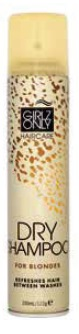 GRIZ ONLY dry shampoo BLOND hair 200 ml - suchý šampon