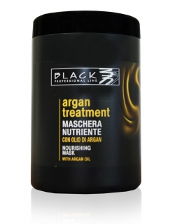 Black Argan Treatment Maschera 1000 ml - arganová maska na vlasy
